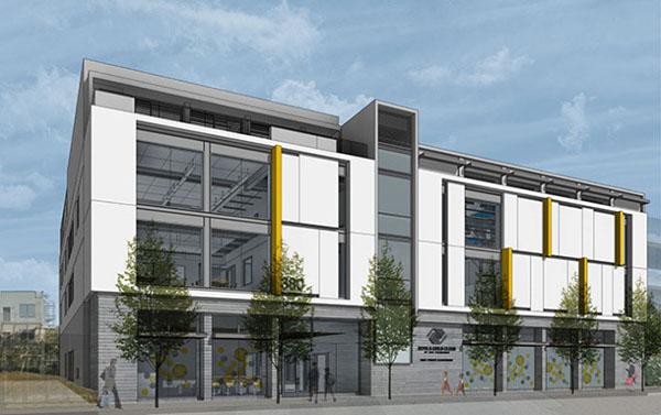 Boys and Girls Club exterior render