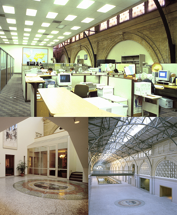Ferry Building prior to renovation