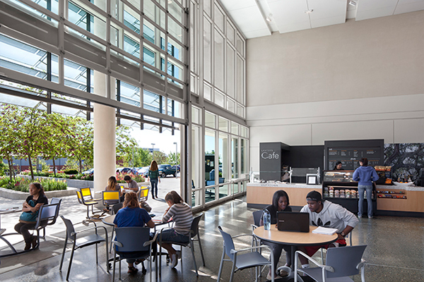 Dining and Café at UC Merced